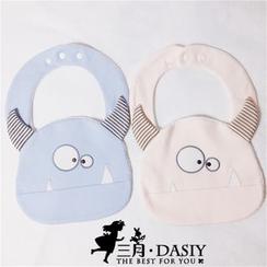 March Daisy - 搞怪小怪獸小童口水巾