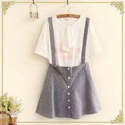 Fairyland - Buttoned Jumper Skirt