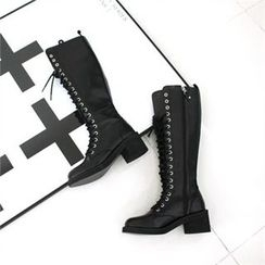 GLAM12 - Zip-Side Long Boots