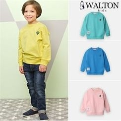 WALTON kids - Kids Embroidered Sweatshirt