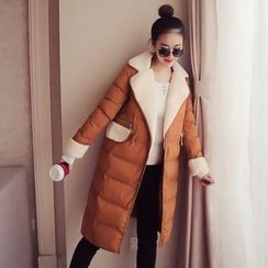 Ashlee - Fleece Lined Long Padded Jacket