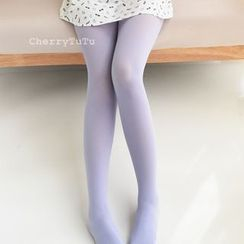CherryTuTu - Plain Velvet Tights