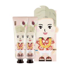 Nature Republic - Hand And Nature Hand Cream - Peach (EXO Edition - Su Ho) 2pcs