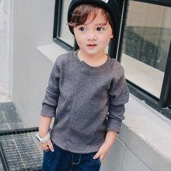 Pegasus - Kids Ribbed Long-Sleeve T-Shirt