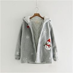 Angel Love - Hooded Zip Jacket