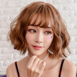 SEVENQ - Short Full Wig - Curly