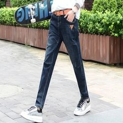 Nassyi - Straight-Cut Jeans