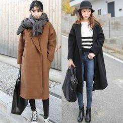 Sienne - Plain Knit Coat