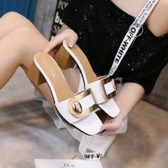Chryse - 粗跟涼鞋