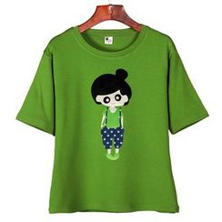 Lina - Print Short-Sleeve T-shirt