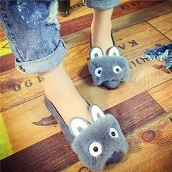 Chryse - Cartoon Furry Flats