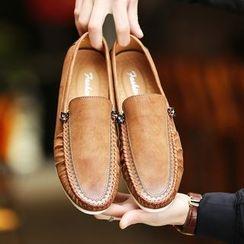 BINSHOU - Paneled Loafers
