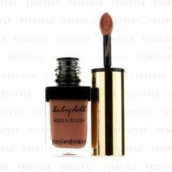 Yves Saint Laurent - Baby Doll Kiss and Blush - # 12 Moca Garconne