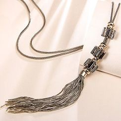 T400 Jewelers - Tasseled Long Necklace