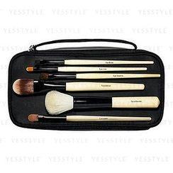 Bobbi Brown - Basic Brush Collection: 6 Brushes + Bag