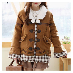 Sechuna - Fleece-Lined Duffle Coat