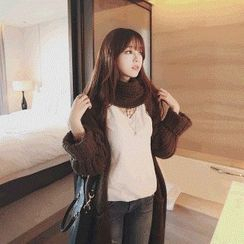 Knitemps - Chunky-Knit Long Cardigan