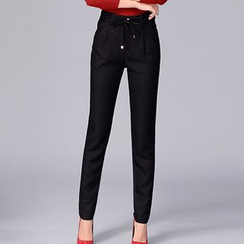 InnoGlam - 纯色锥形长裤