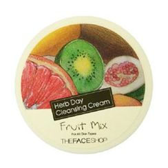 The Face Shop - Herb Day Cleansing Cream - Fruits Mix 150ml