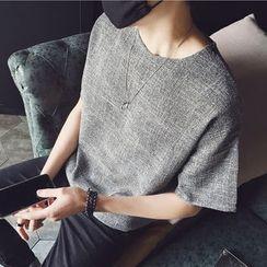 ZZP HOMME - Linen T-Shirt
