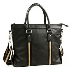 Moyyi - Faux Leather Tote