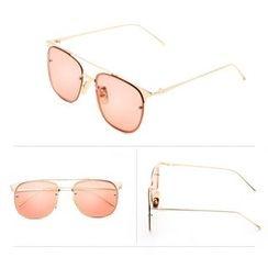 OJOS - Metal Frame Sunglasses