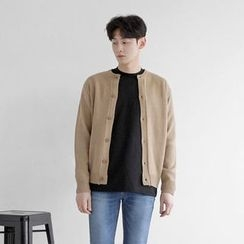 Seoul Homme - Button-Front Cardigan