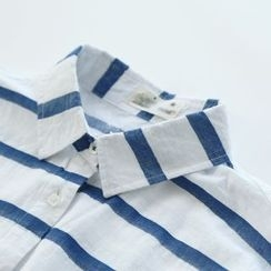 Bonbon - Stripe Long-Sleeve Shirt