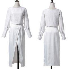 Yilda - Set: Top + Midi Skirt