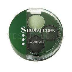Bourjois - Smoky Eyes (Eyeshadow Trio) #08 Vert Trendy