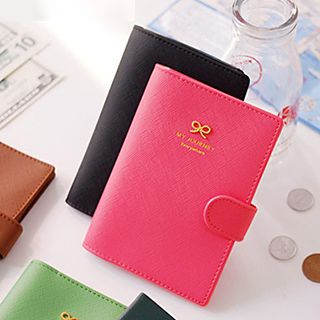 Bow Passport Holder
