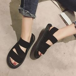 Hipsole - Flat Strappy Sandals