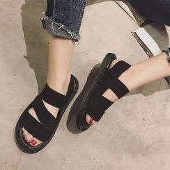 時尚麥樂 - 平底鞋多帶涼鞋