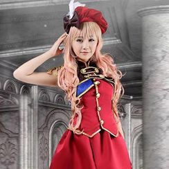 Coshome - Macross Sheryl Nome Cosplay Costume