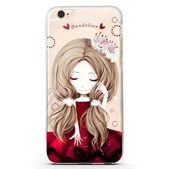 Kindtoy - Girl Pattern iPhone 6 / 6S / 6 Plus Case