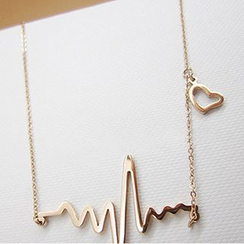 Cheermo - Heartbeat EKG Necklace