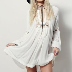 Sunset Hours - Crochet Insert Cover-Up