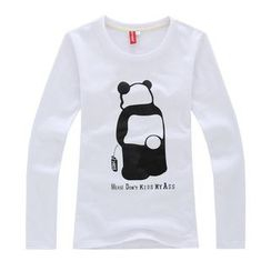 Porspor - 熊貓印花T恤