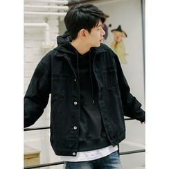 JOGUNSHOP - Denim Button Jacket
