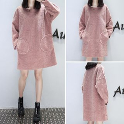 EFO - Fleece Pullover Dress