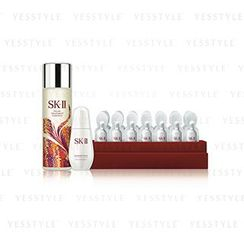 SK-II - Limited Set: Essence 230ml + GenOptics Spot Essence 30ml + Whitening Spots Concentrate 14g