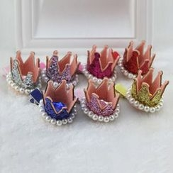 Koibito - Kids Sequined Crown Hair Clip