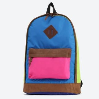 K-Style - Color-Block Backpack