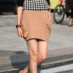 SO Central - Elasticized Waist Side Pocket Skirt