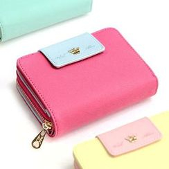 iswas - 'With Alice' Series Zip Wallet