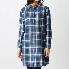 Pluvio - Plaid Long Shirt