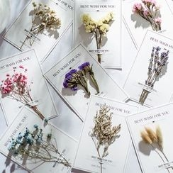 VEYIA - Dried Flower Greeting Card