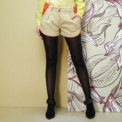 Daiyake - Contrast-Color Shorts