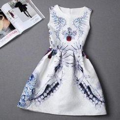 Rainbeam - Floral Sleeveless Dress