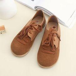 布衣天使 - 系带鞋子